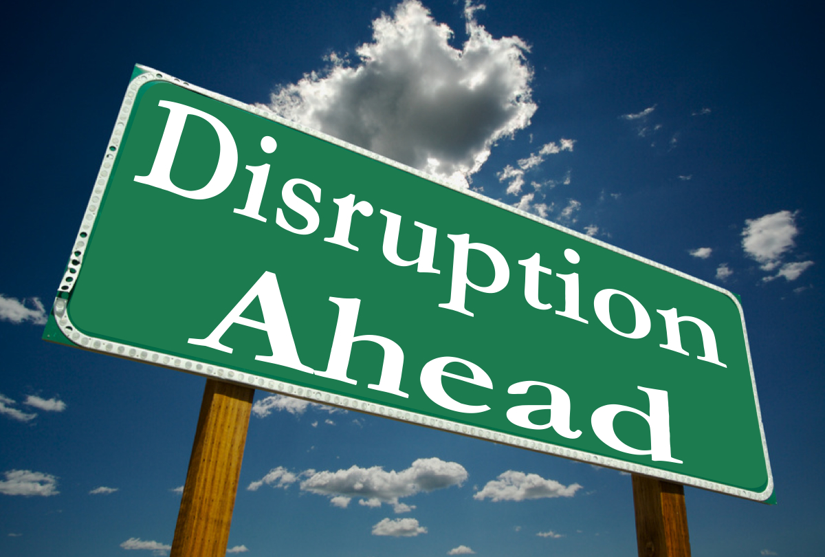 Image result for disruption
