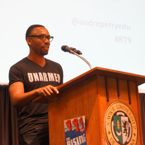 Scholar, writer and education activist Andre Perry.