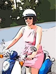 scooter2_Cartoonizer_1