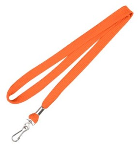 plain-orange-lanyard (Sr. No. 11)